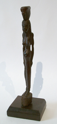 Unknown Egyptian Wood Standing Female Figure