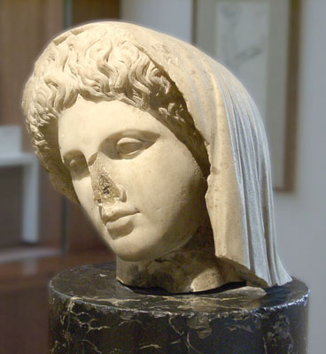 Unknown Roman Marble Female Head