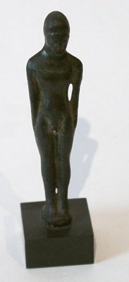 Unknown Bronze Male Figure of the Kouros Type