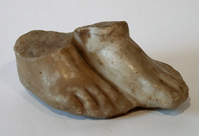 Unknown Pair of Roman Marble Feet