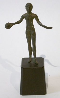 Unknown Etruscan Bronze Figure of a Youth