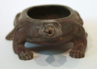 Unknown Bronze Censer in the Form of a Tortoise