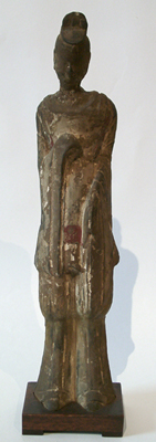 Unknown Pottery Figure of a Man