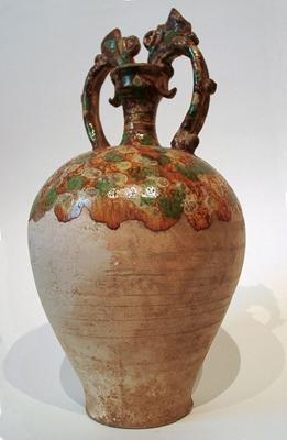 Unknown Glazed Pottery Amphora