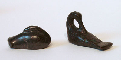 Unknown Mesopotamian Bronze Duck Weight