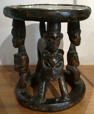 Unknown Cameroon Wood Stool