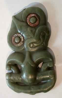Unknown Maori Greenstone Tiki