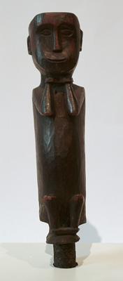 Unknown Nicobar Islands Wood Figurine