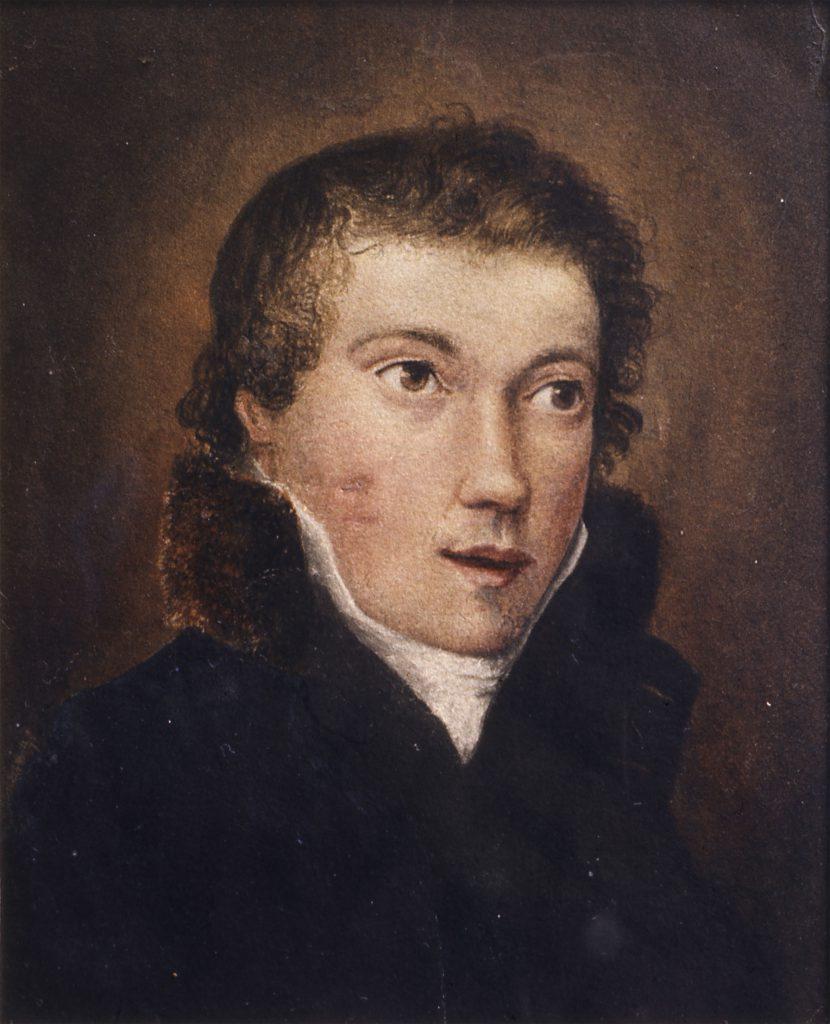 Severn, Joseph (attributed to) Portrait, Said to be John Keats