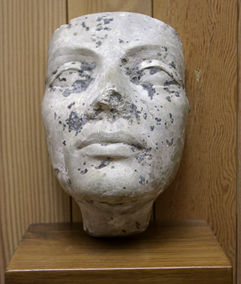 Unknown Plaster Female Mask