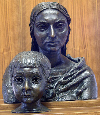 Epstein, Sir Jacob Heads of New York Madonna and Child