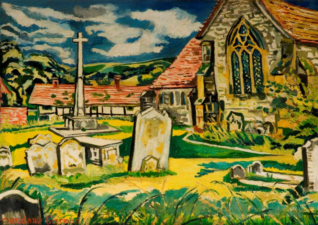 Garman, Theodore Church at South Harting