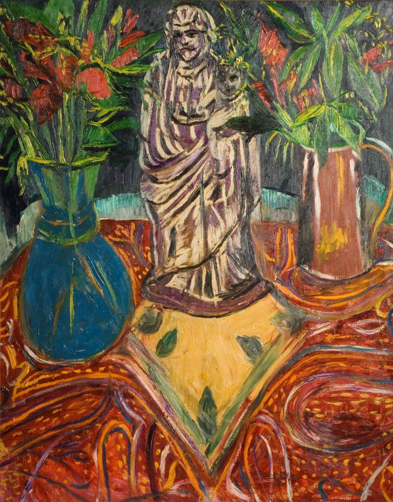 Garman, Theodore Madonna with Flowers