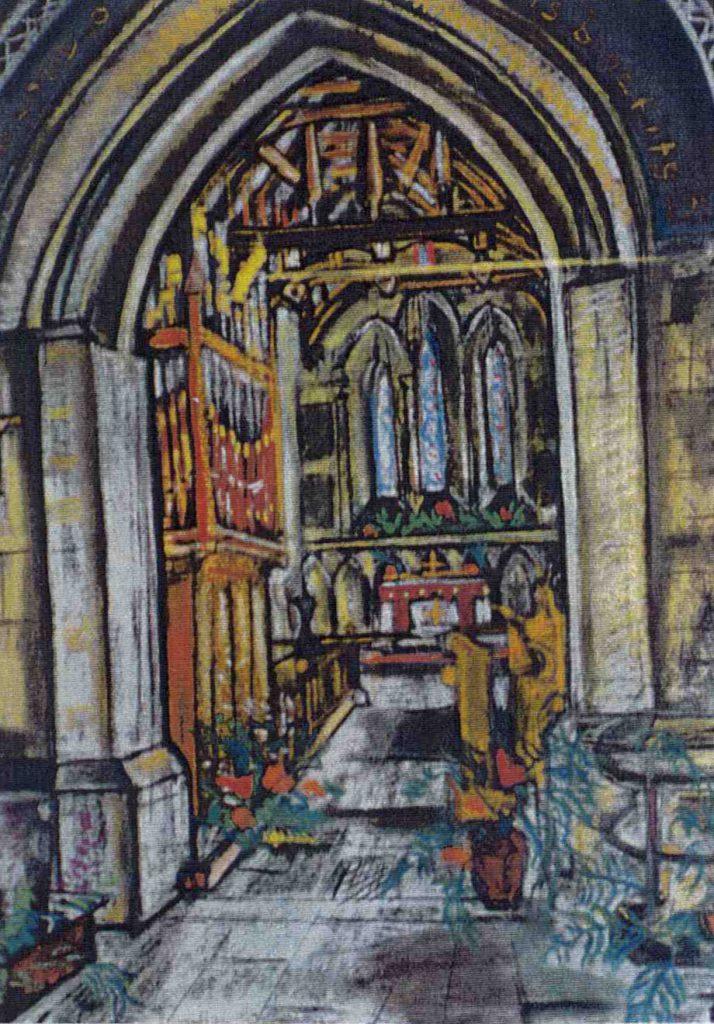 Garman, Theodore South Harting Church, Interior (I)