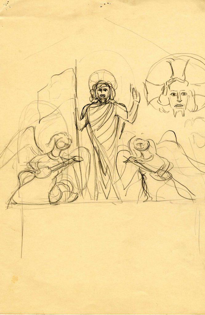Epstein, Sir Jacob Sketch of Three Figures