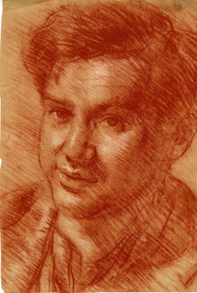 Unknown Portrait of Theodore Garman