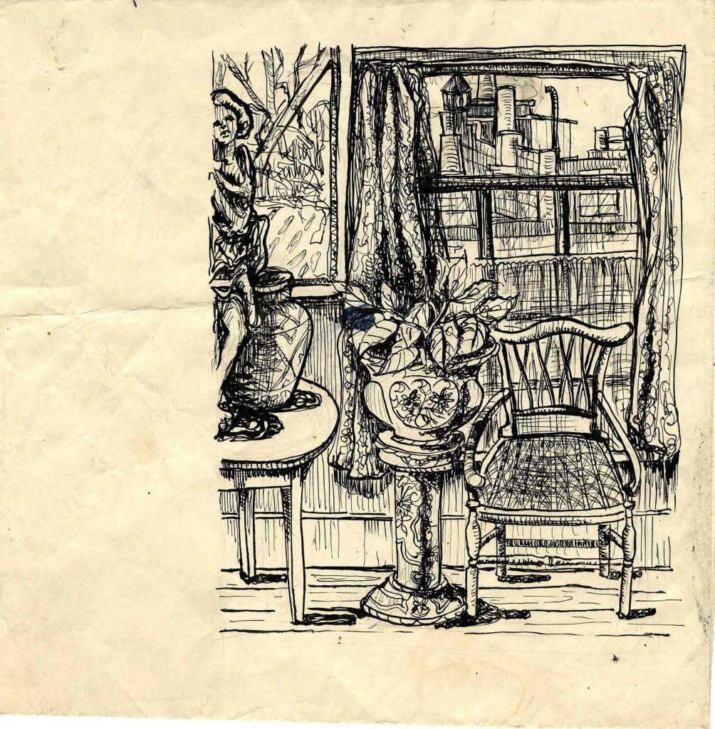 Unknown Interior Sketch