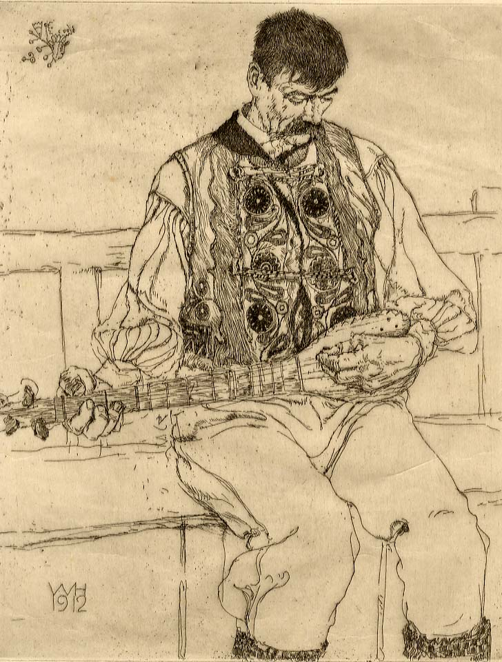 Unknown Untitled (Man Playing Guitar)