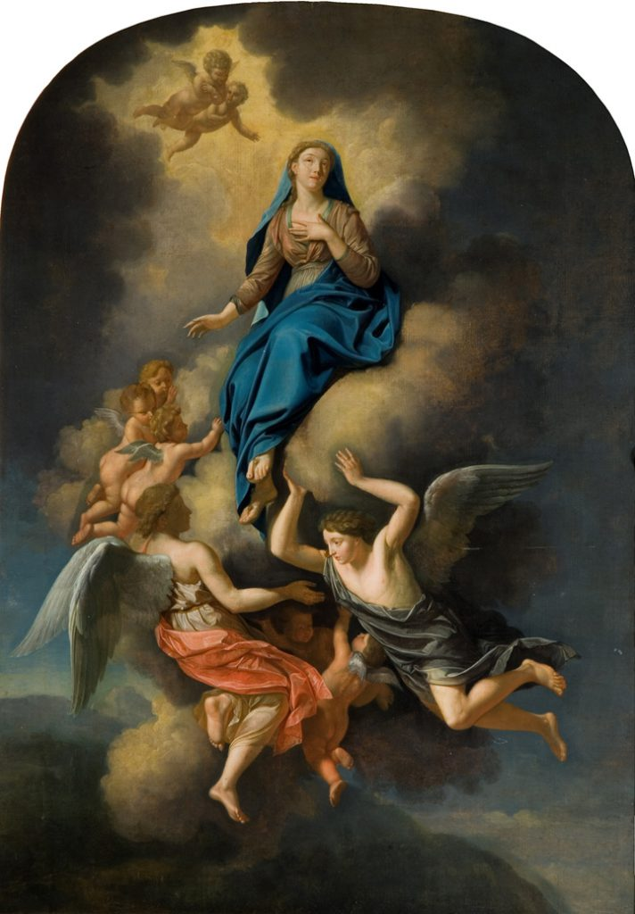 Unknown Ascension of the Virgin into Heaven