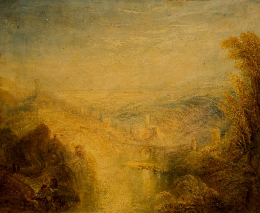 Turner, J.M.W. (after) Landscape (after J M W Turner)