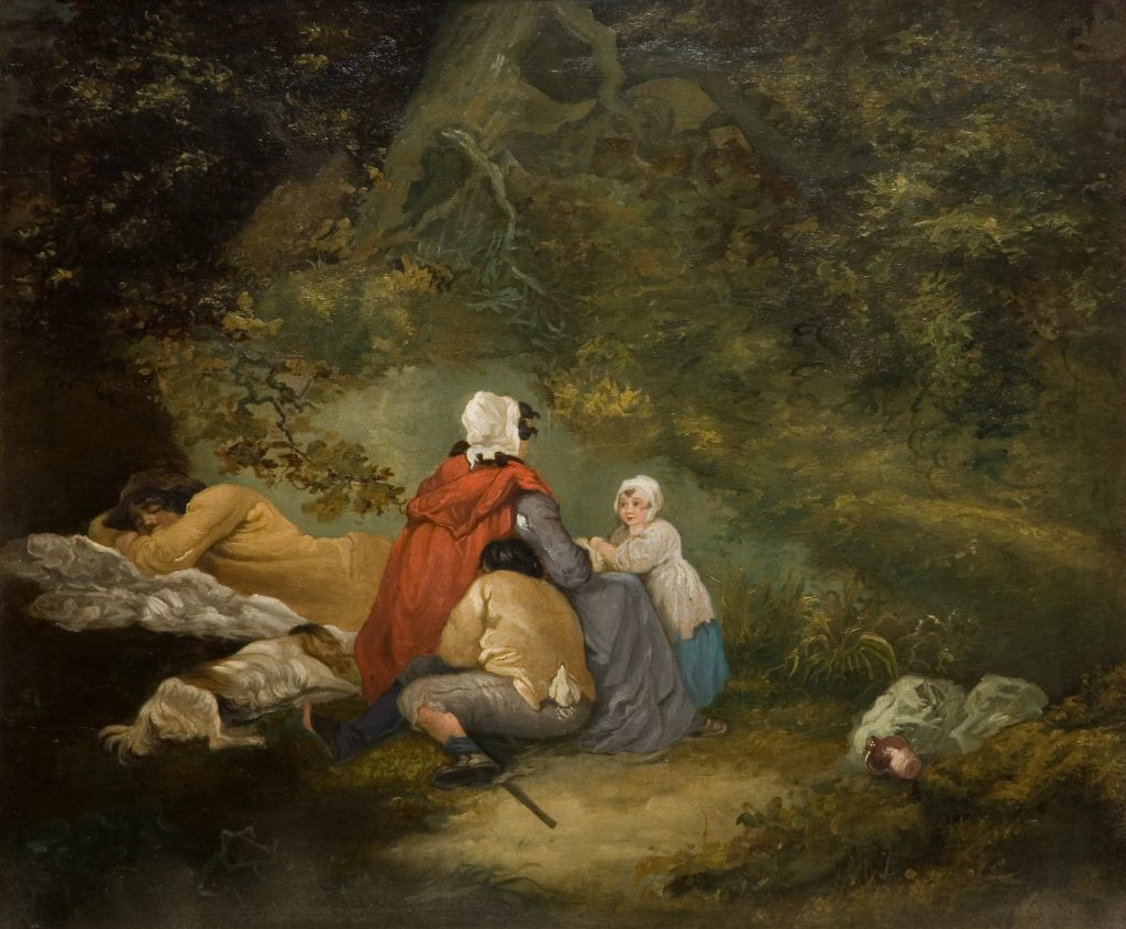 Morland, George The Sleepers (Gypsy Scene)
