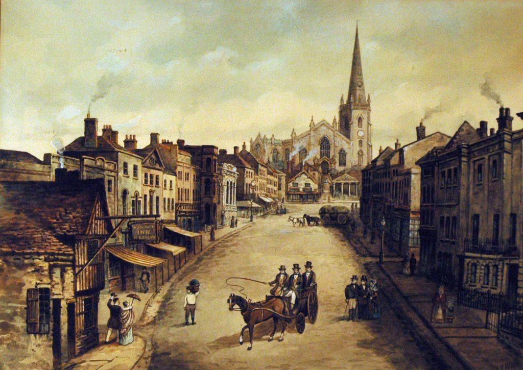 Webb, F.T. High Street c 1845