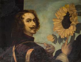 Haynes, B. Man with Sunflower