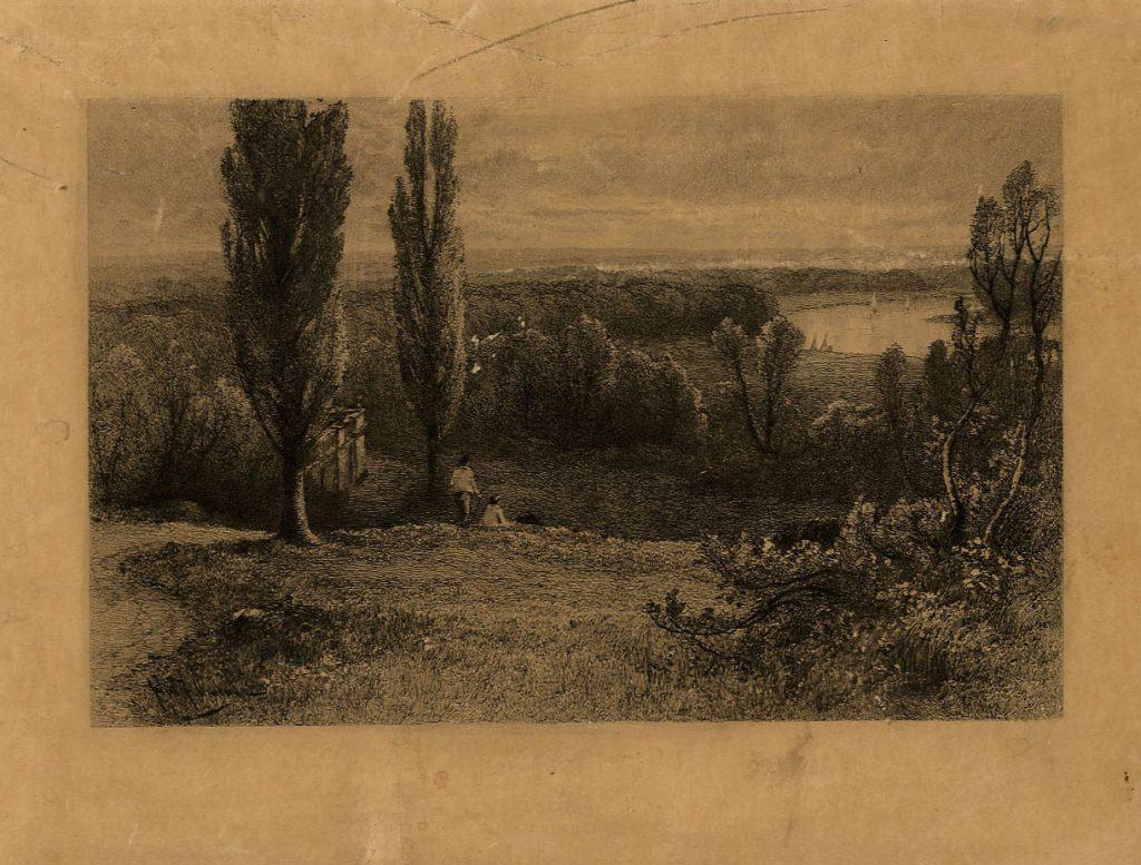 Fullwood, John Poplar Trees and Lake