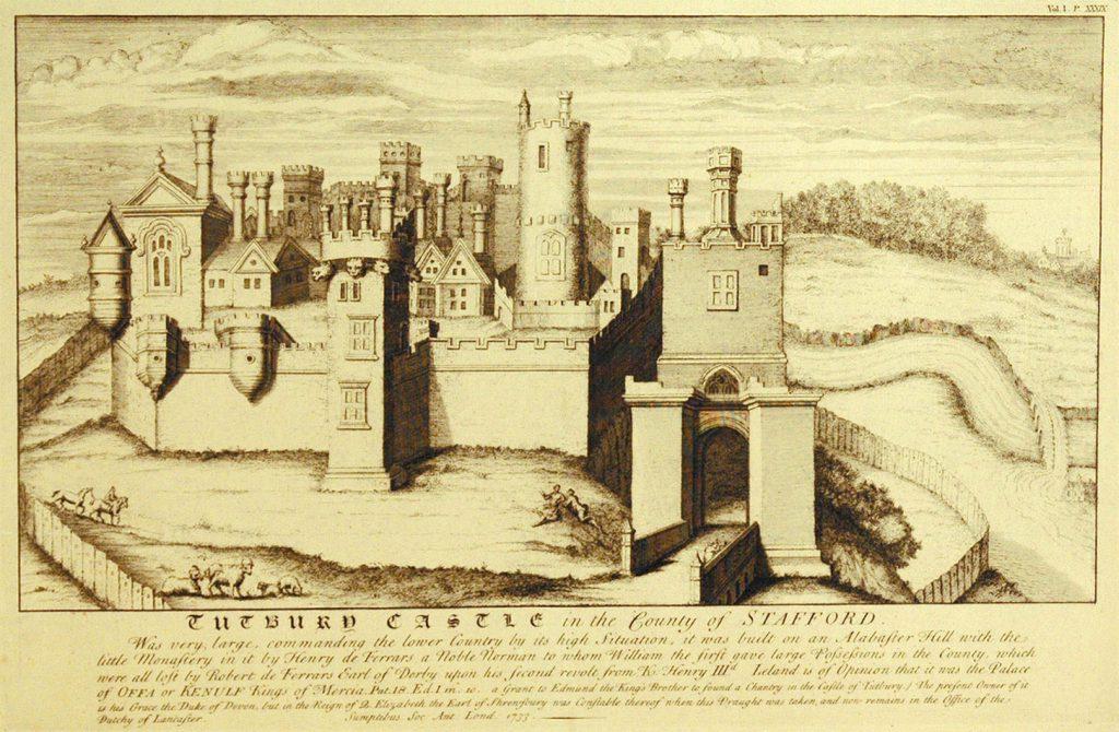Unknown Tutbury Castle, Staffs