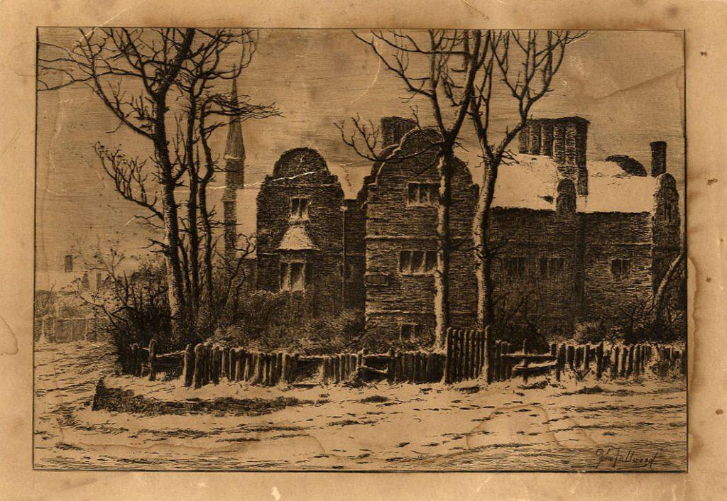 Fullwood, John White Hart, Caldmore, in the Snow