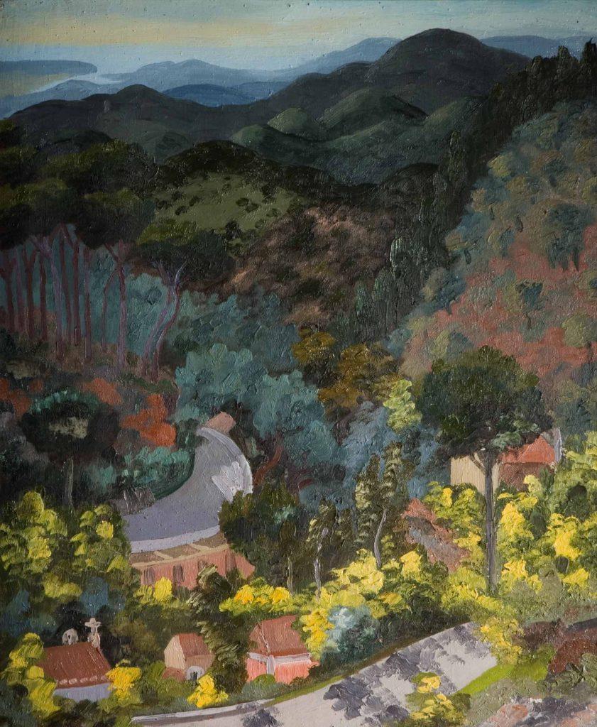 Morris, Sir Cedric Monchique Foothills, Algarve