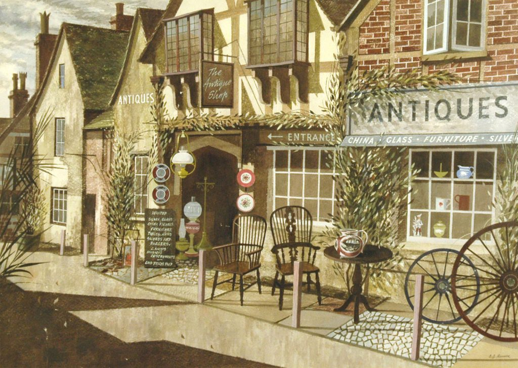 Arnold, Charles Geoffrey The Antique Shop