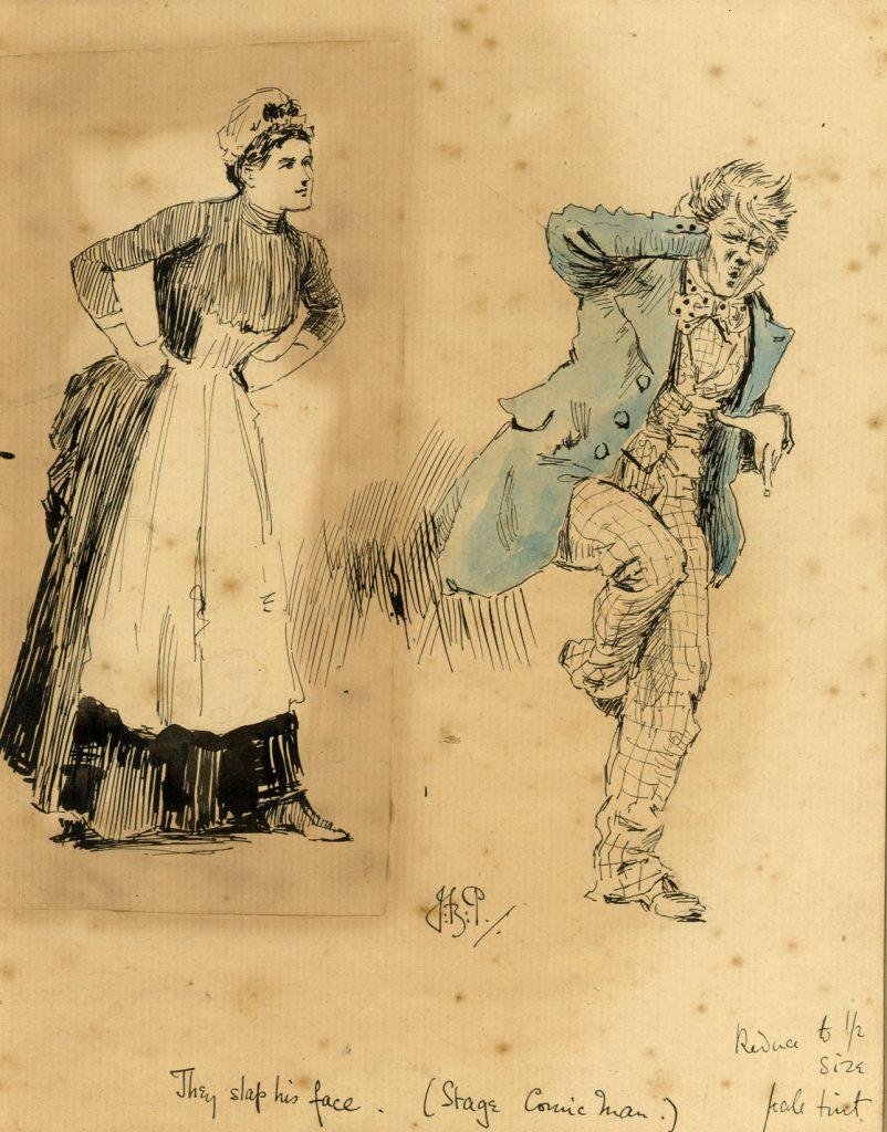 Partridge, J.B. They slap his face