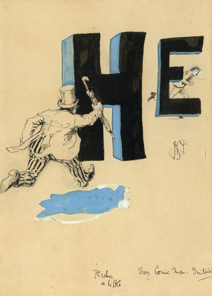 Partridge, J.B. Stage Comic Man