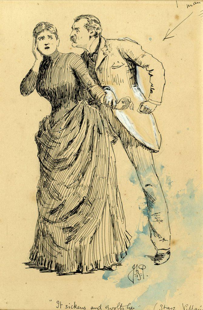 Partridge, J.B. It sickens and revolts her