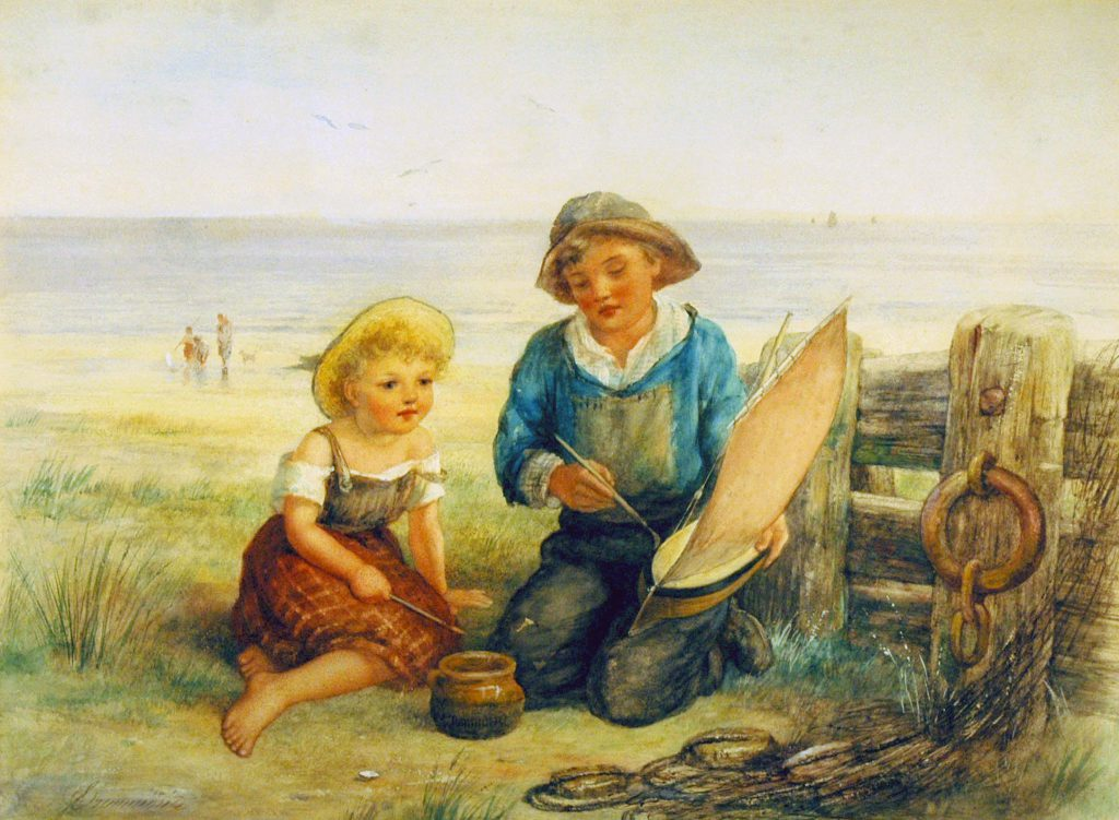 Drummond, James By the Sea Shore