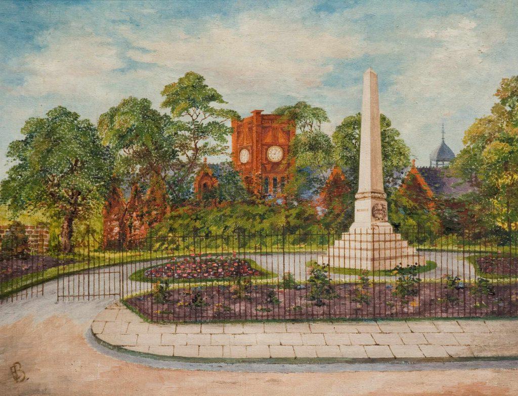Burns, E. Willenhall War Memorial