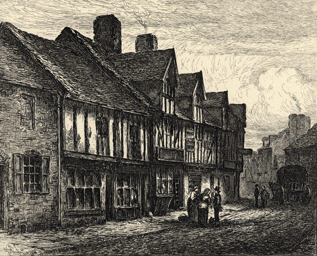 Fullwood, John Old Houses, Lichfield Street