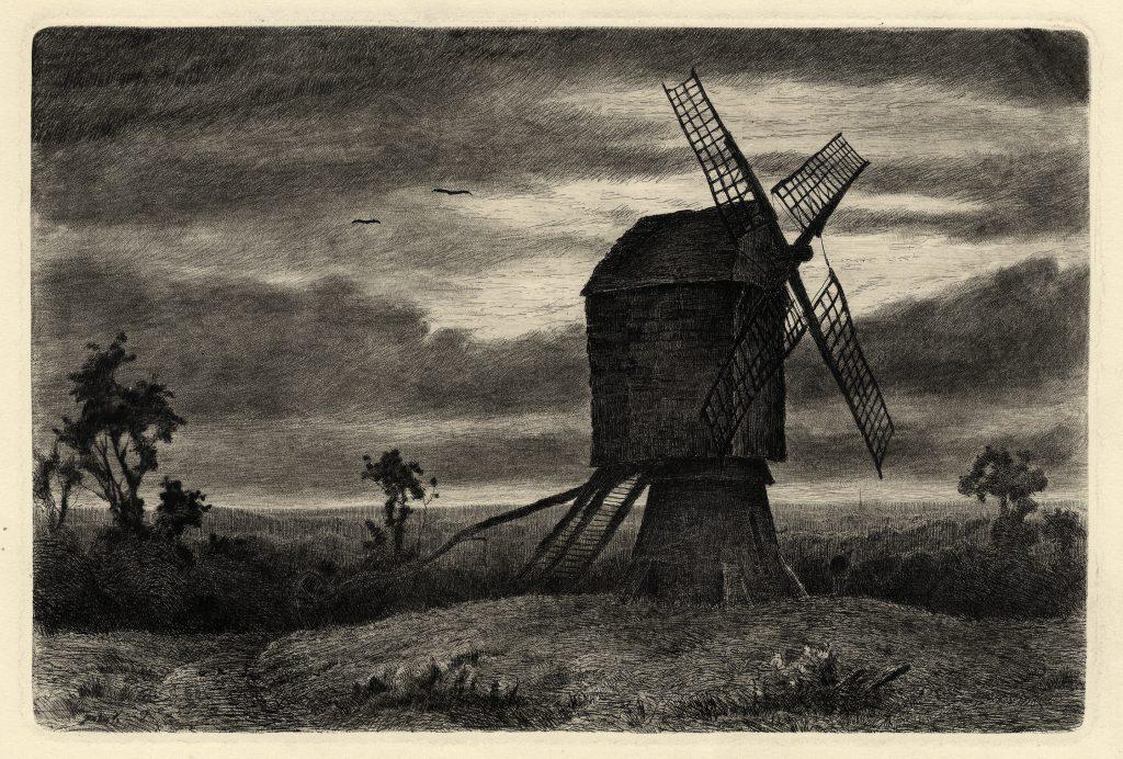 Fullwood, John Windmill near Sedgley