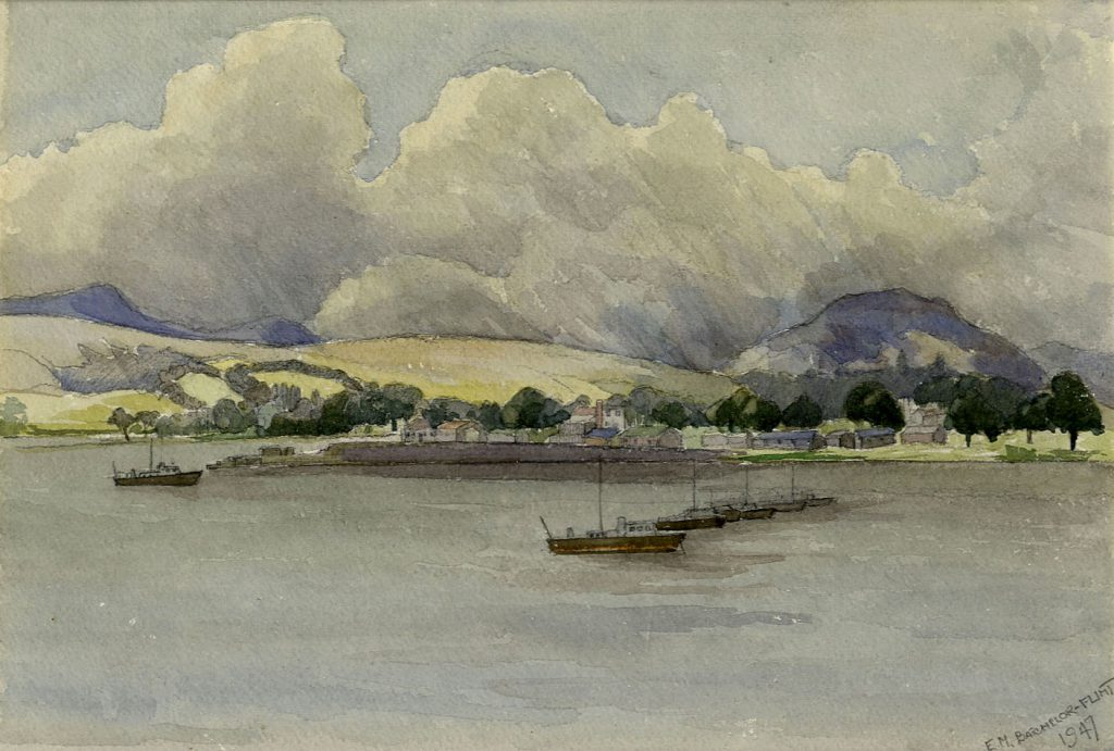 Flint, E. M. River Clyde, Scotland