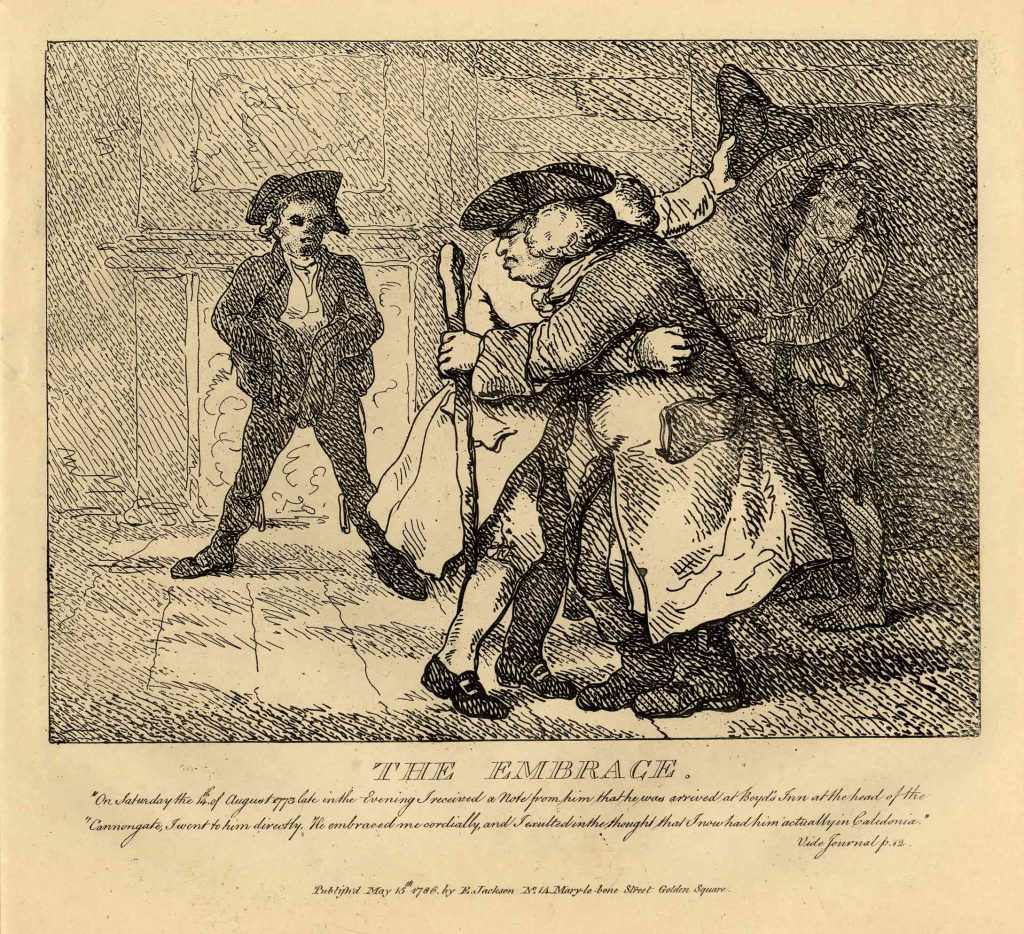 Rowlandson, Thomas The Embrace