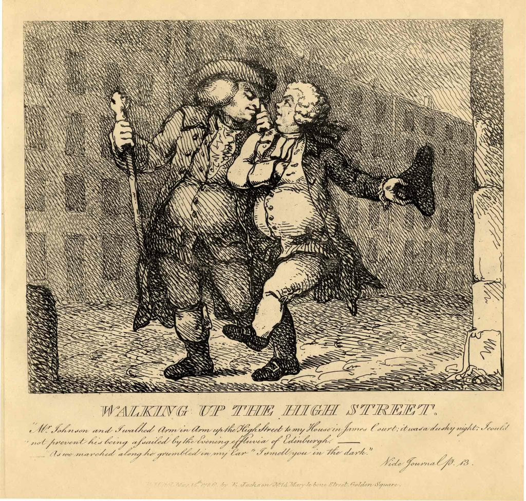 Rowlandson, Thomas Walking up the High Street