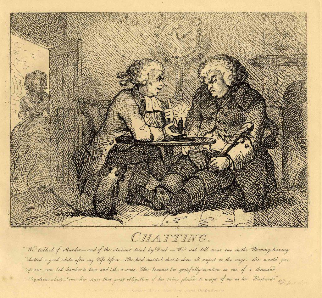 Rowlandson, Thomas Chatting