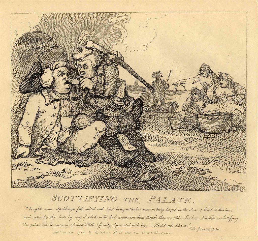 Rowlandson, Thomas Scottifying the Palate