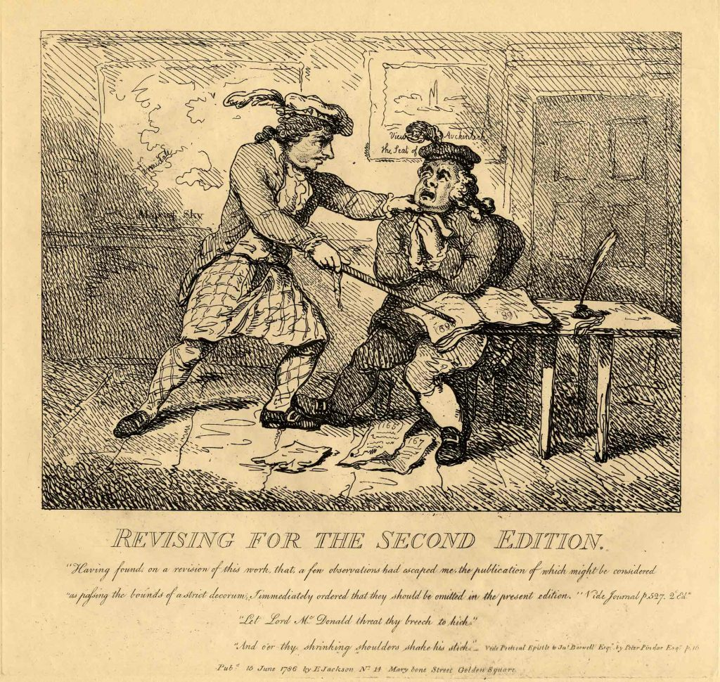 Rowlandson, Thomas Revising for the Second Edition