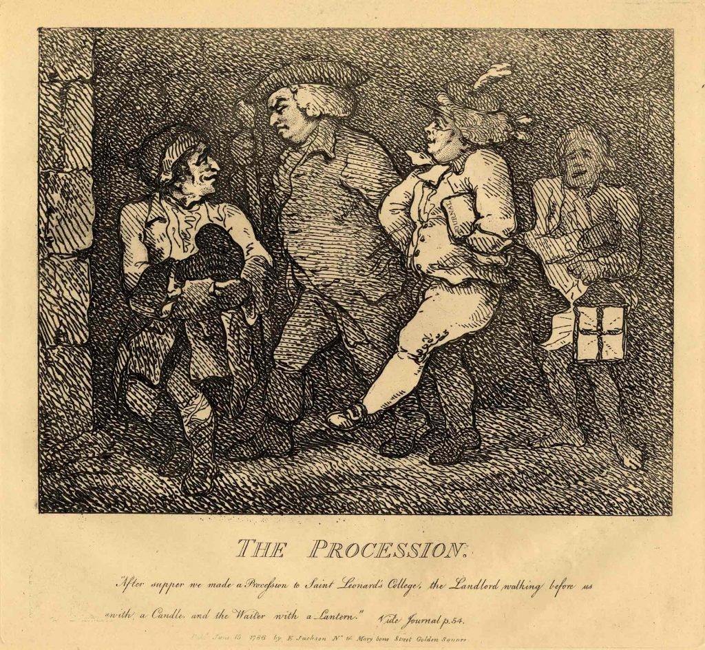 Rowlandson, Thomas The Procession
