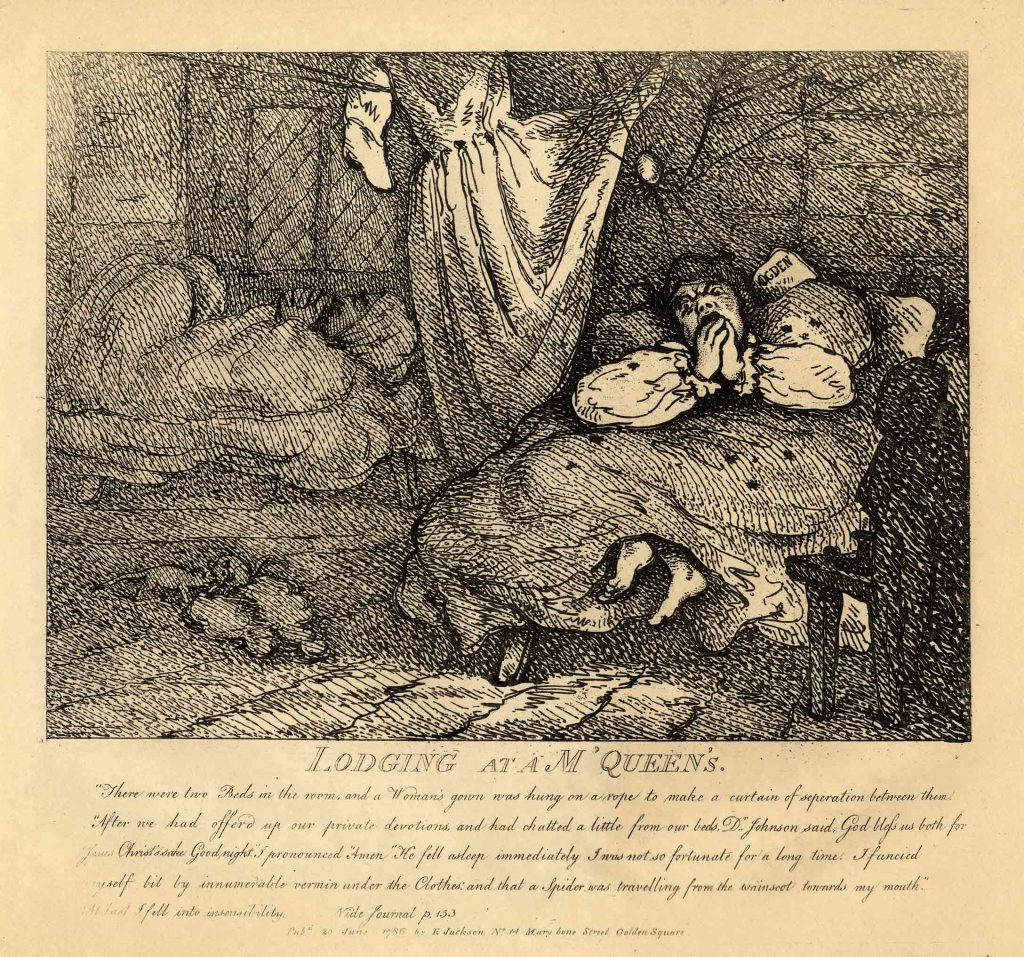 Rowlandson, Thomas Lodging at a M'Queen's