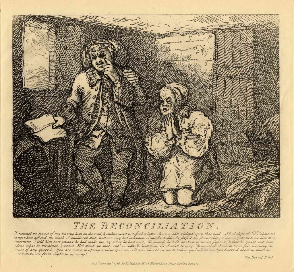 Rowlandson, Thomas The Reconciliation