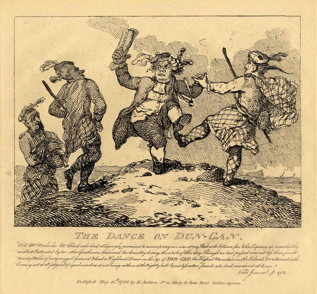 Rowlandson, Thomas The Dance on Dun-Can