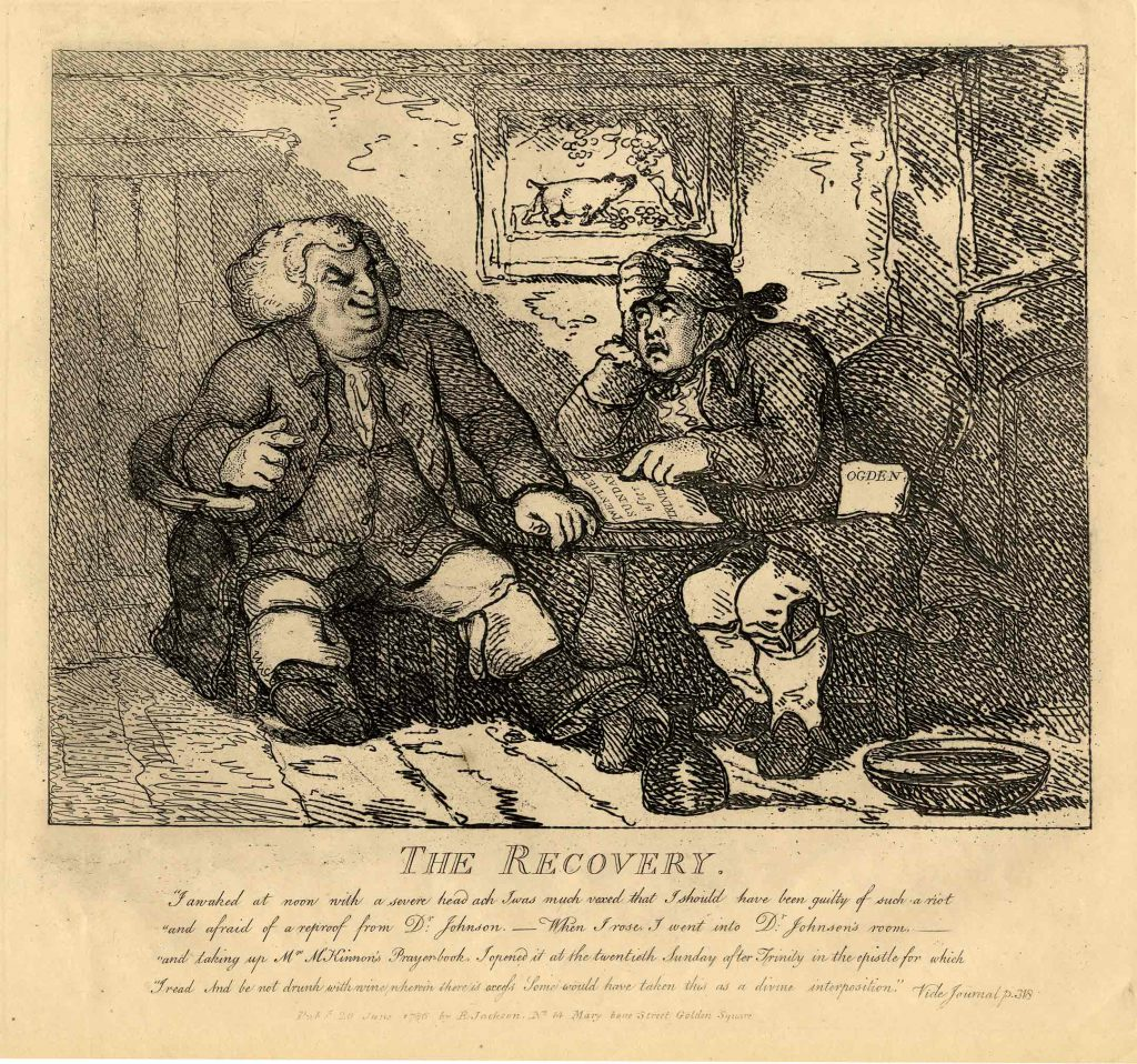 Rowlandson, Thomas The Recovery